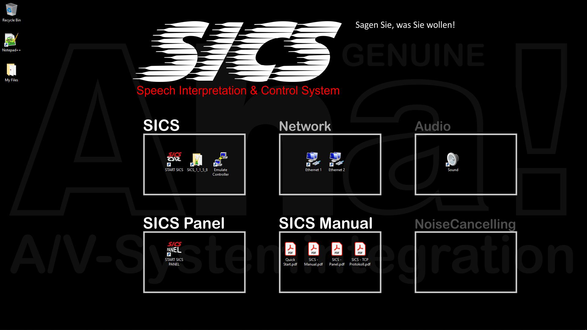 SICS Desktop